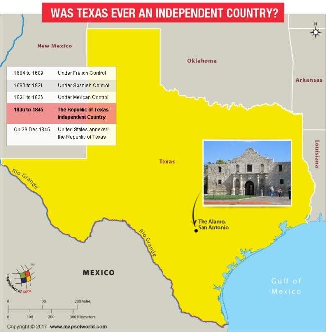 Was Texas ever an independent country