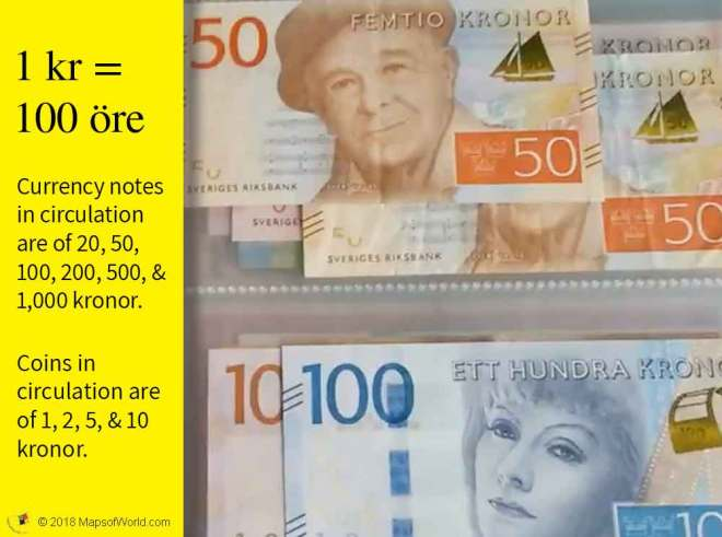 Image of Swedish Currency
