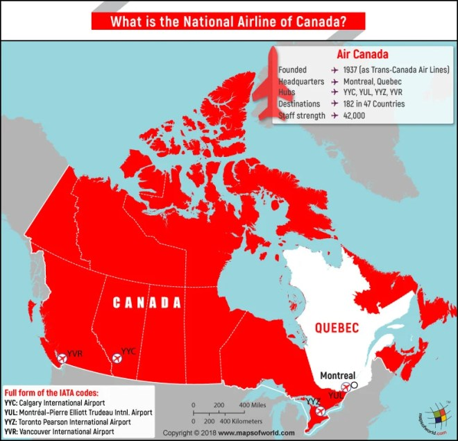 What Is The National Airline Of Canada Answers