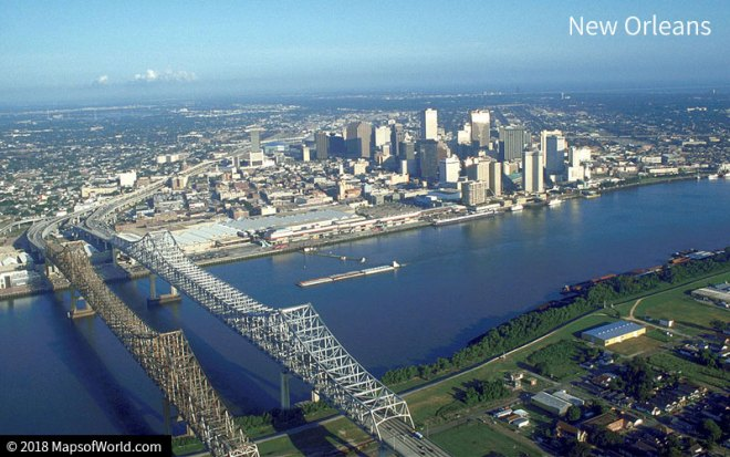 New Orleans Landscape
