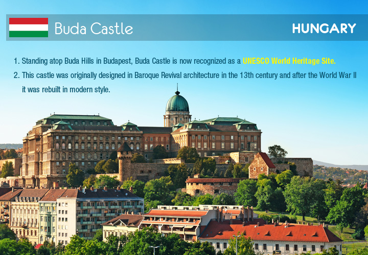 Infographic depicts Buda Castle