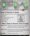 Infographic Showing Information About Gulag