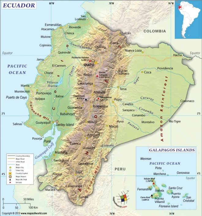 What are the Key Facts of Ecuador? | Ecuador Facts - Answers