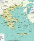 Map of Hellenic Republic
