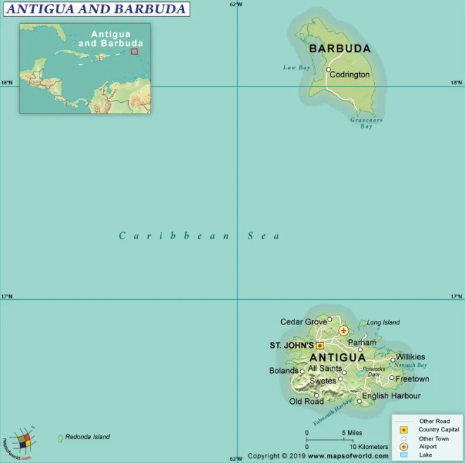 What are the Key Facts of Antigua and Barbuda? - Answers