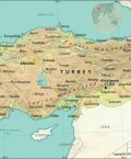 Map of Republic of Turkey