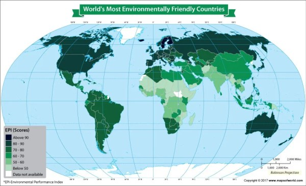 A Glimpse Into the Environmental Performance Index of the ...