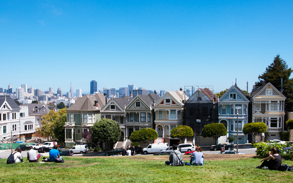 Alamo Square Park San Francisco