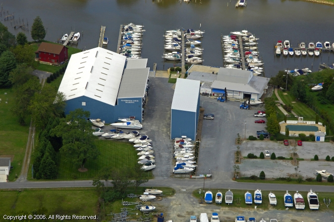 Harbour Cove Marina In Deale Maryland United States