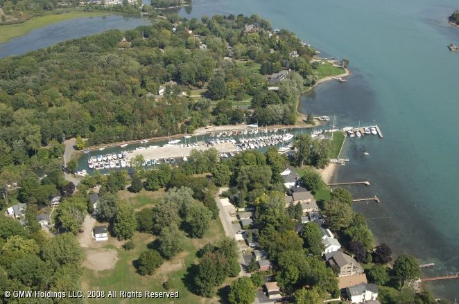 Grosse Ile Yacht Club In Grosse Ile Michigan United States