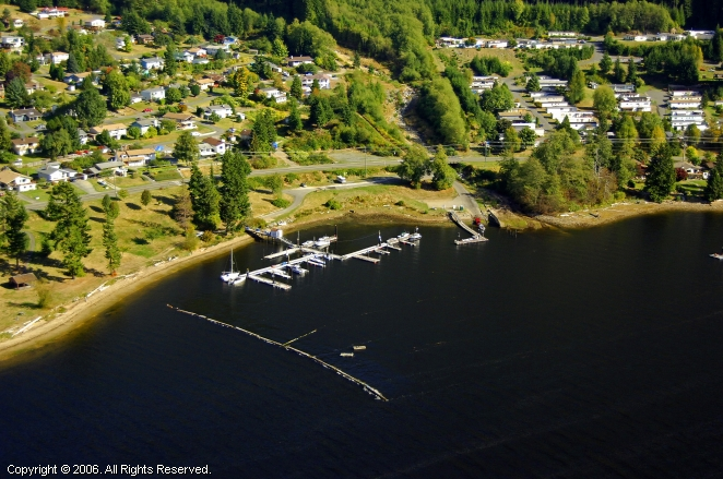 Port Alice Yacht Club In Port Alice British Columbia Canada