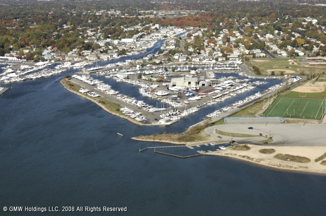 Anchorage Yacht Club In Lindenhurst New York United States