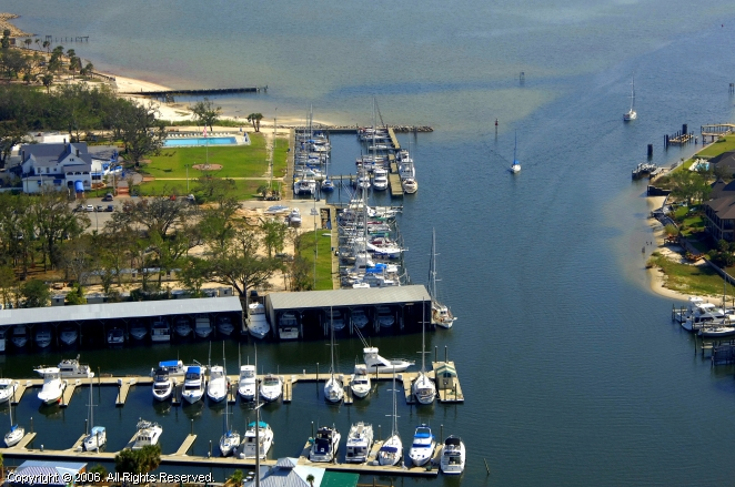 Pensacola Yacht Club In Pensacola Florida United States