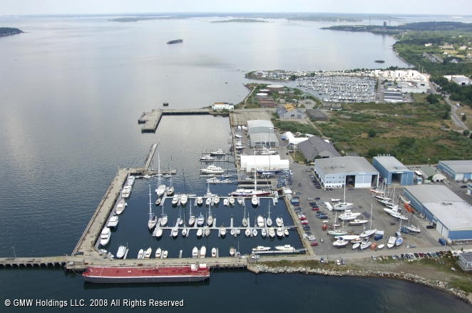 Hinckley Yacht Services In Portsmouth Rhode Island