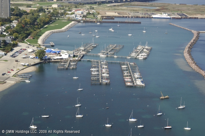 South Shore Yacht Club In Milwaukee Wisconsin United States