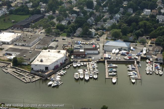 Baldwin Harbor Yacht Club In Freeport New York United States