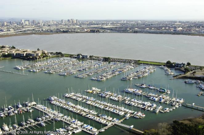 Emery Cove Yacht Harbor In Emeryville California United