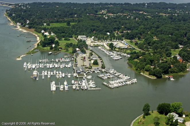 York River Yacht Haven In Gloucester Point Virginia United States