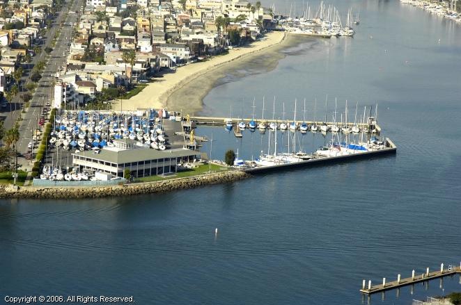 Alamitos Bay Yacht Club In Long Beach California United