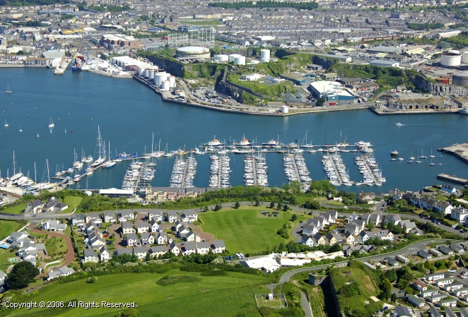 Plymouth Yacht Haven In Plymouth Devon England United