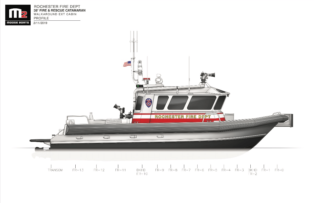 Moose Boats For Rochester Fd
