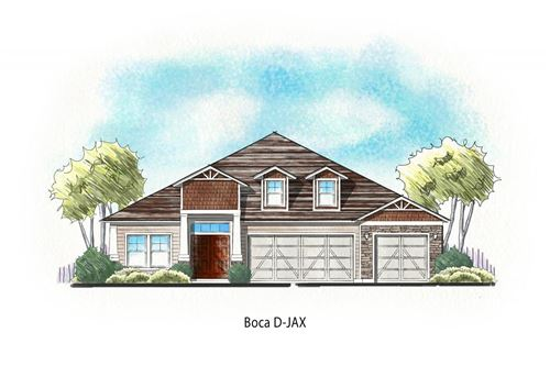 Photo of 595 Willow Lake Dr, St Augustine, FL 32092 (MLS # 199235)