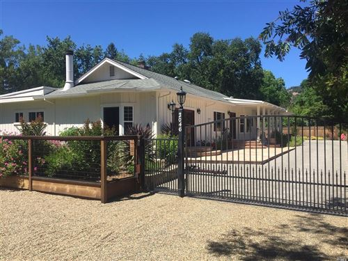 Photo for 2046 Grant Street, Calistoga, CA 94515 (MLS # 22013195)