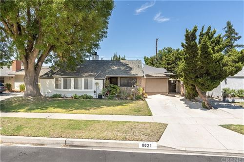 Photo of 8021 Lasaine Avenue, Northridge, CA 91325 (MLS # SR21162079)