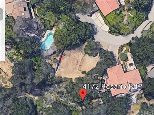 Photo of 4172 Rosario Road, Woodland Hills, CA 91364 (MLS # SR21043543)