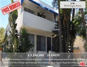 Photo of 1016 North CURSON Avenue, West Hollywood, CA 90046 (MLS # 19505250)