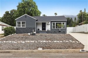 Photo of 321 East POPPYFIELDS Drive, Altadena, CA 91001 (MLS # 819002471)