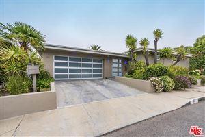 Photo of 812 EL ORO Lane, Pacific Palisades, CA 90272 (MLS # 19458652)