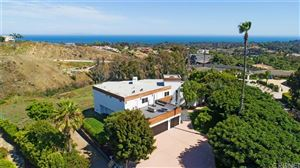 Photo of 6272 CAVALLERI Road, Malibu, CA 90265 (MLS # SR19176657)