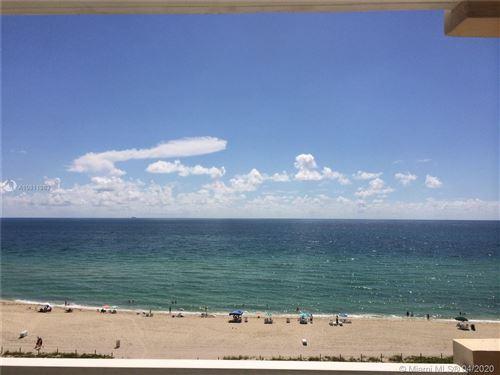 Photo of 5601 COLLINS AV #1003, Miami Beach, FL 33140 (MLS # A10811983)