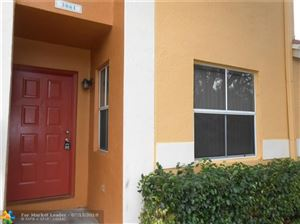 Photo of 3861 NW 90th Ave #3861, Sunrise, FL 33351 (MLS # F10131143)