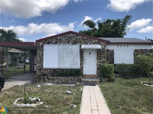 Photo of 2523 Scott St, Hollywood, FL 33020 (MLS # F10181170)