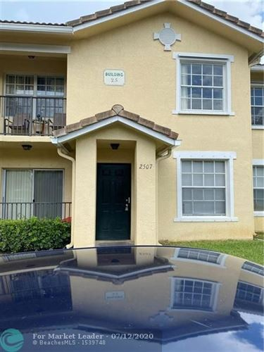 Photo of 2507 Belmont Ln #2507, North Lauderdale, FL 33068 (MLS # F10238379)