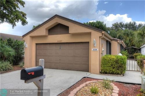 Photo of 2220 NW 34th Terrace, Coconut Creek, FL 33066 (MLS # F10237440)