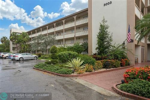 Photo of 3003 Portofino Isle #B1, Coconut Creek, FL 33066 (MLS # F10237898)