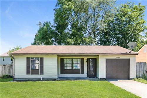 Photo of 3241 REMINGTON Drive, Indianapolis, IN 46227 (MLS # 21820730)