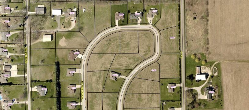Photo of TBD Lot 42 Placidview Lane, Syracuse, IN 46567 (MLS # 202101333)