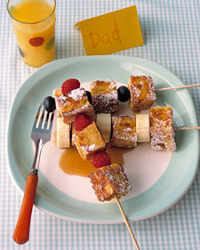 French Toast Kabobs