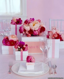 Wedding Favors as your Centerpiece