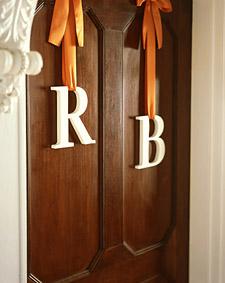 Door Monograms