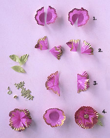 Paper-Cup Flowers