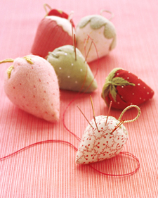 Strawberry Pincushions