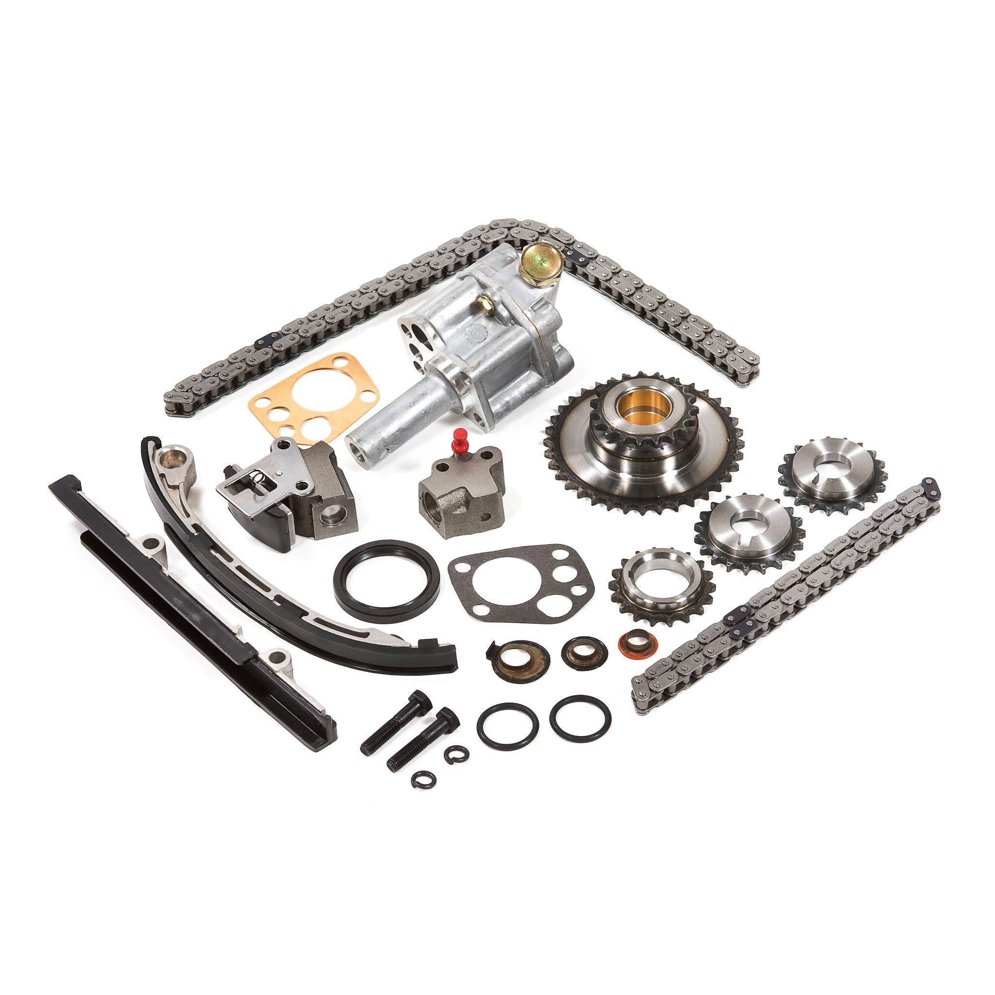 98 04 Nissan 2 4 Dohc 16v Ka24de Timing Chain Kit Oil Pump