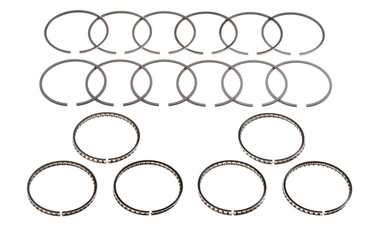 Hastings 2c 6 Cylinder Piston Ring Set