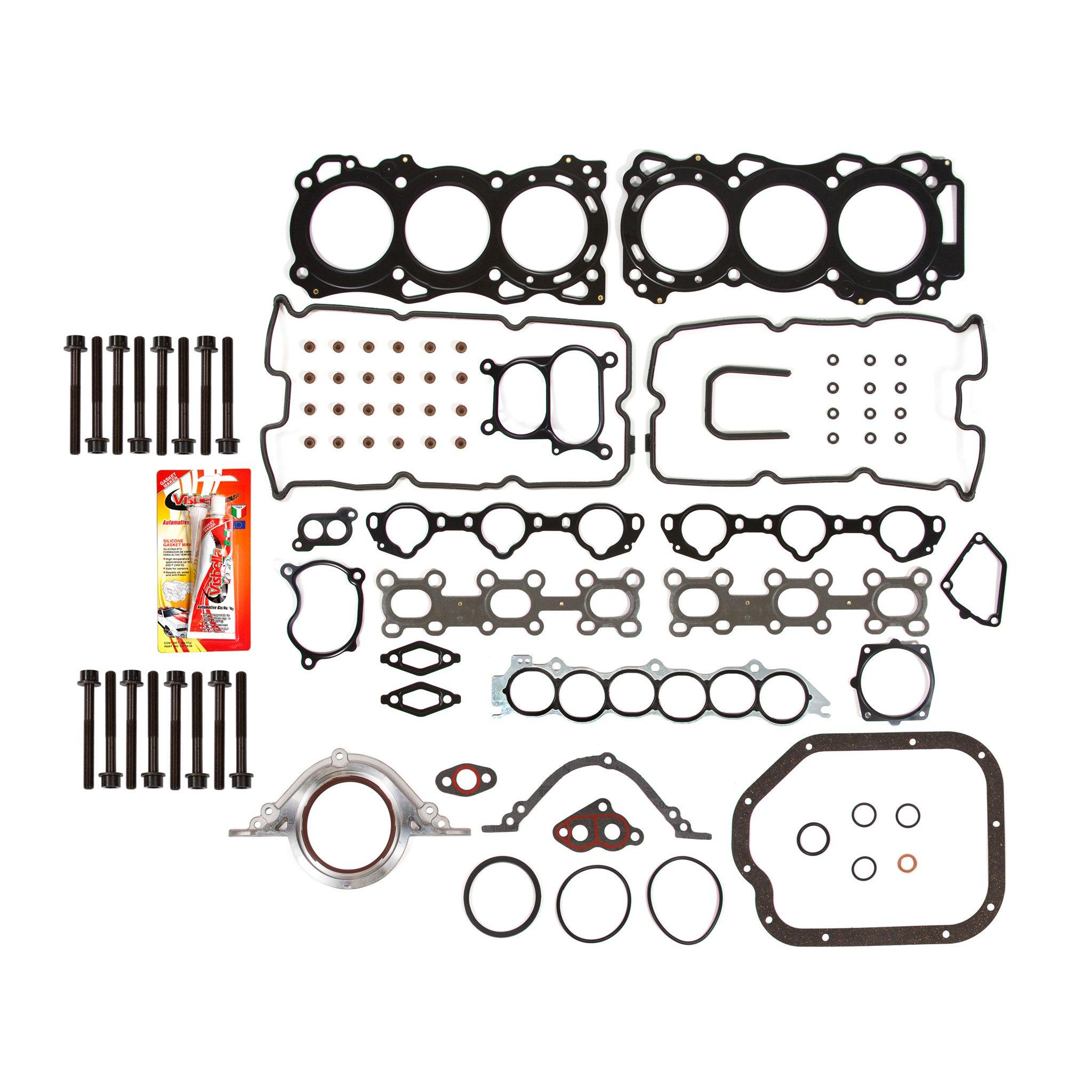 02 09 Nissan Murano Quest Altima Maxima Vq35de Full Gasket