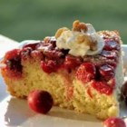 Cranberry Upside-Down Coffee Cake